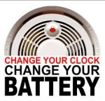 change your clock, change your smoke alarm batteries!
