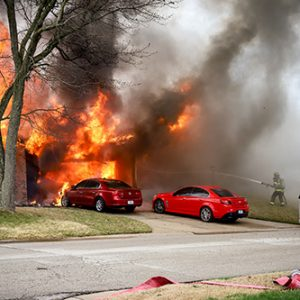 garage fire in Cottleville Fire Protection District